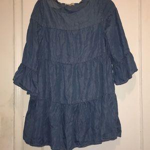 Denim dress from Zara